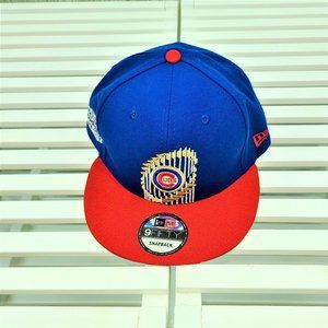NEW ERA CHICAGO CUBS 9FIFTY 2016 CHAMPION SNAPBACK